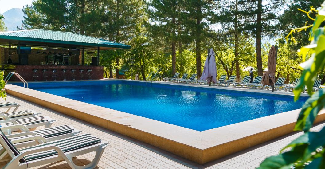 аренда коттеджа с басейном